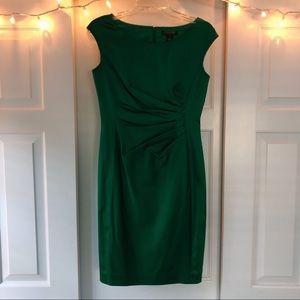 Lauren Ralph Lauren Satin Green Dress